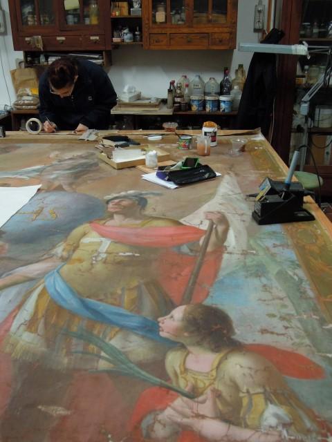 Stendardo della Confraternita di Santa Croce – Cavallermaggiore